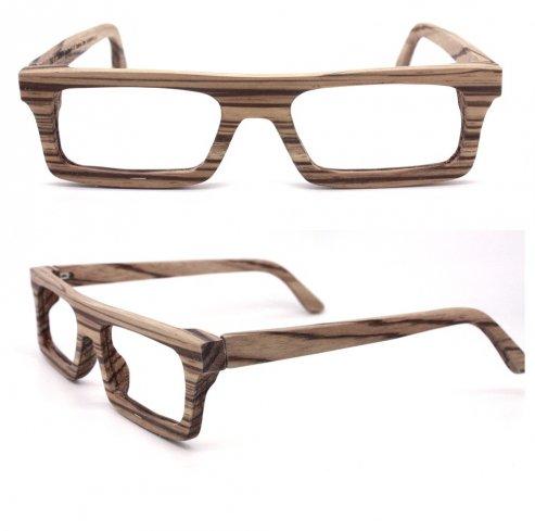 sito affidabile 433ca 0d65c Occhiali in legno spesso - 30web sito completamente ...